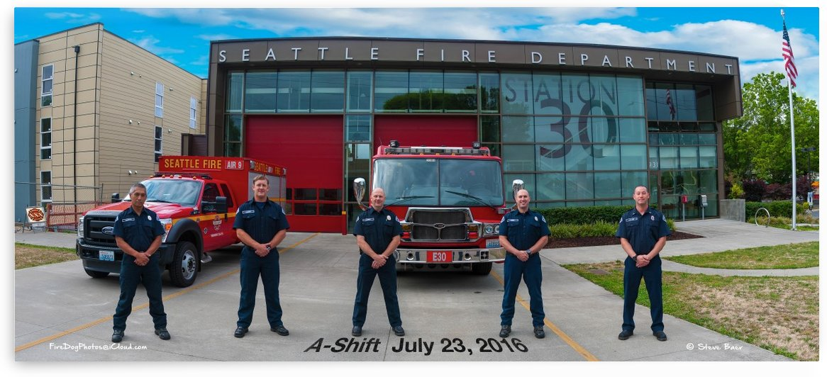 Seattle Fire Department Station 30 by Steve