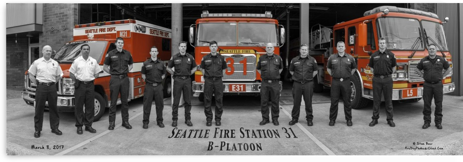 Seattle Fire Department Station 31  by Steve