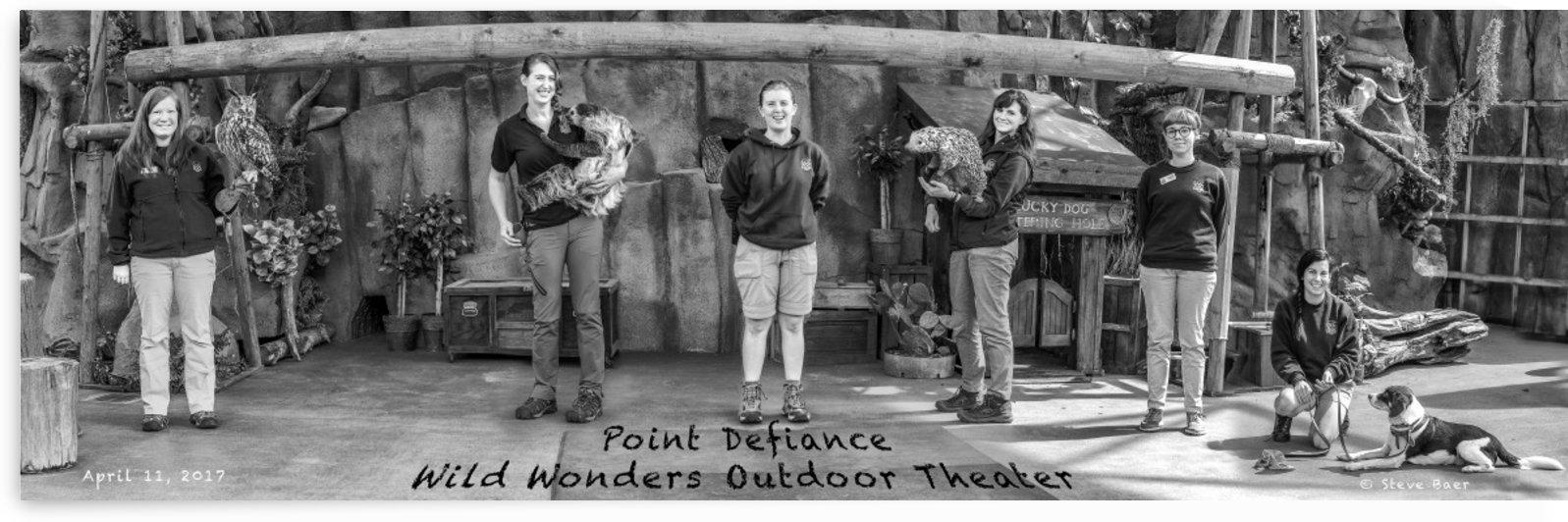 Point Definace Zoo  by Steve