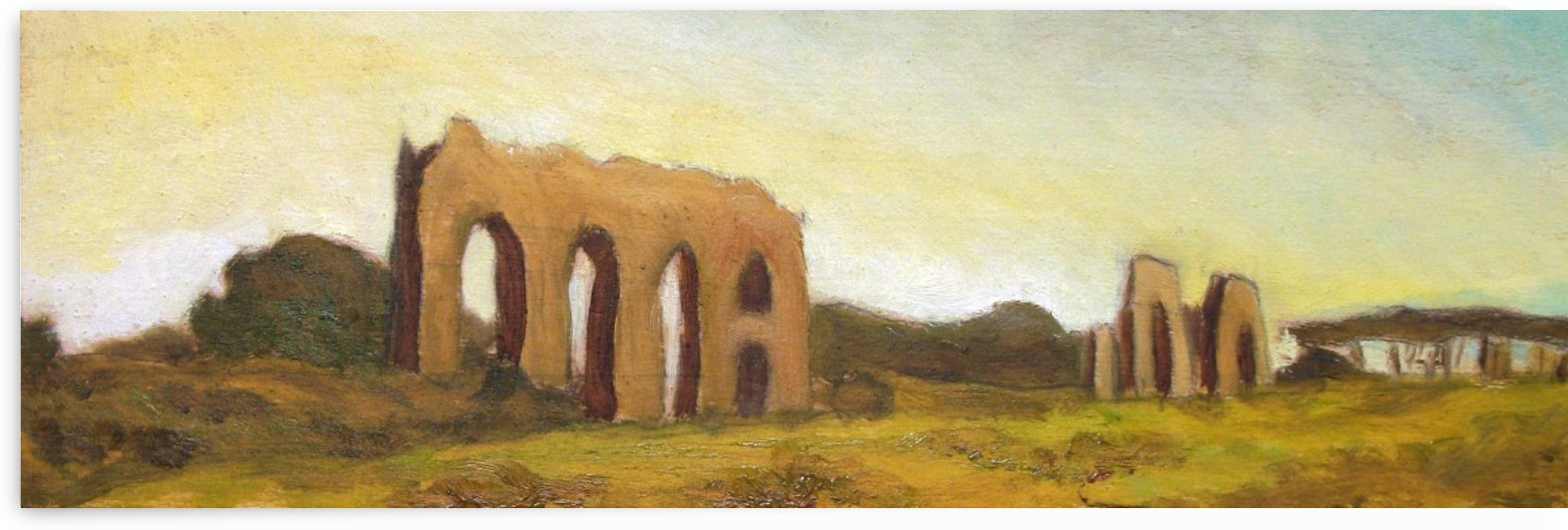 ROMAN COUNTRYSIDE LANDSCAPE: THE ANCIENT ROMAN AQUEDUCTS  by Alessandro Nesci