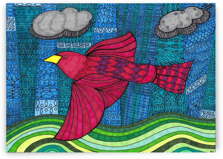 redbird  by Susan Watson