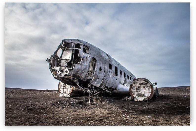 Plane wreck by Danielle Farrell