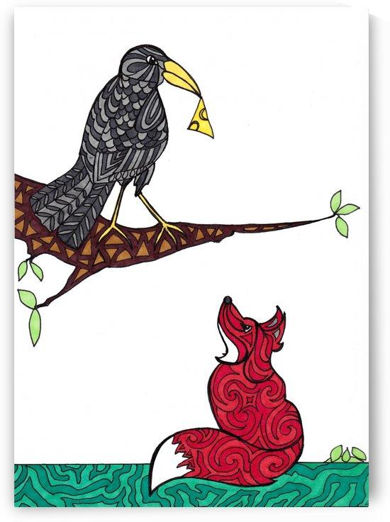 Crow and Fox by Susan Watson