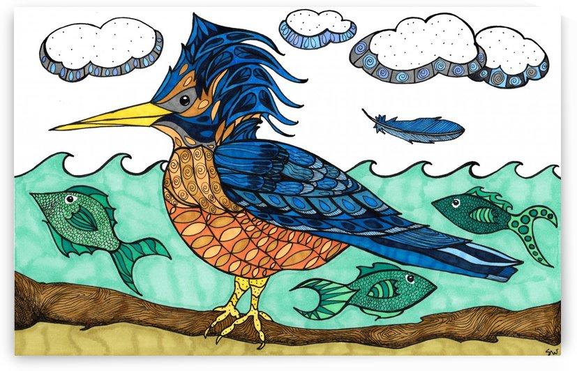 kingfisher  by Susan Watson