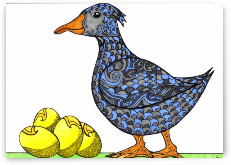 Goose and Golden Eggs by Susan Watson