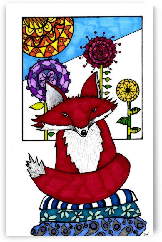 Zen Fox 2 by Susan Watson