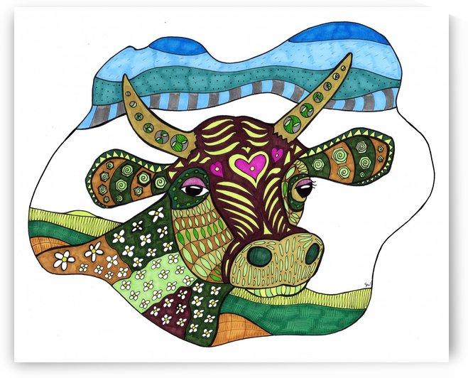 Elsie Cow by Susan Watson