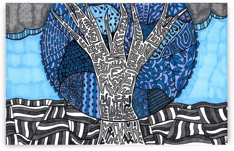 Blue Tree by Susan Watson