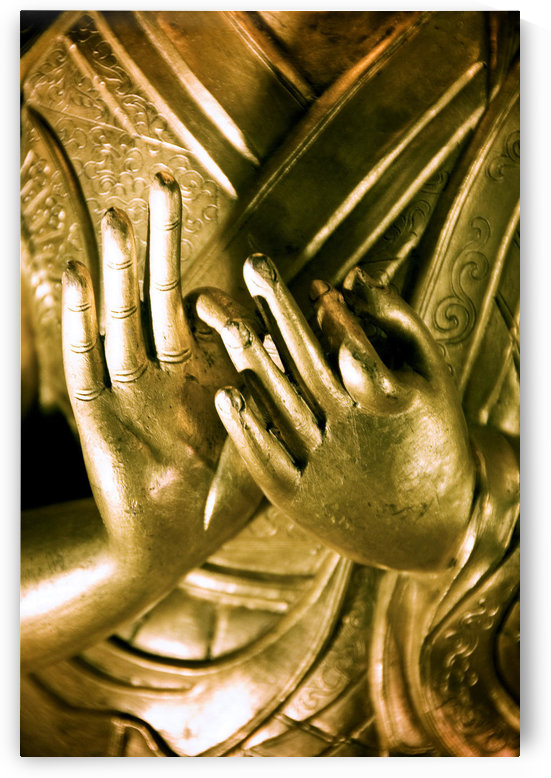 China, Buddha Hands Found On Hollywood Road; Hong Kong by PacificStock