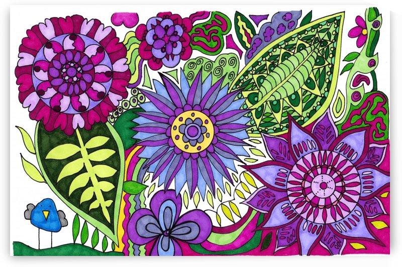 Flowers 7 by Susan Watson