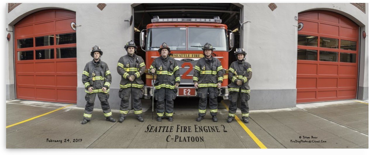 Seattle Fire Department Station 2, Engine 2 by Steve