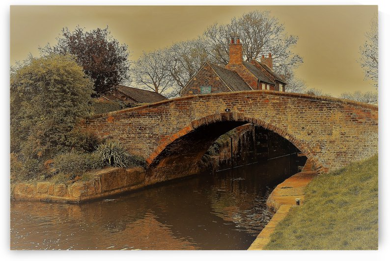 Canal bridge by Andy Jamieson