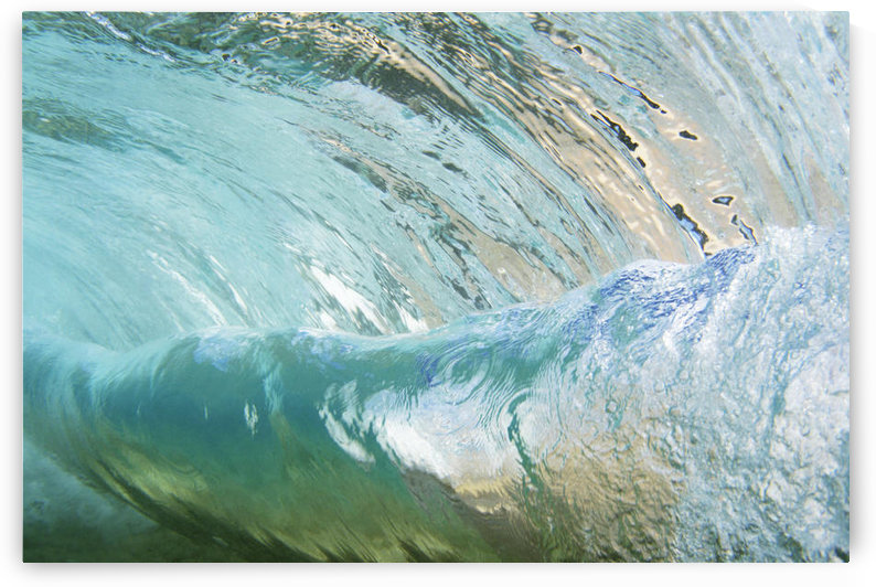 Hawaii, Underwater View Of Wave. by PacificStock