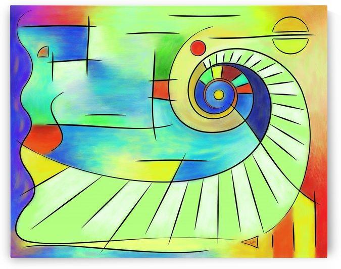 Wainissium - stairway to the sun by Cersatti Art