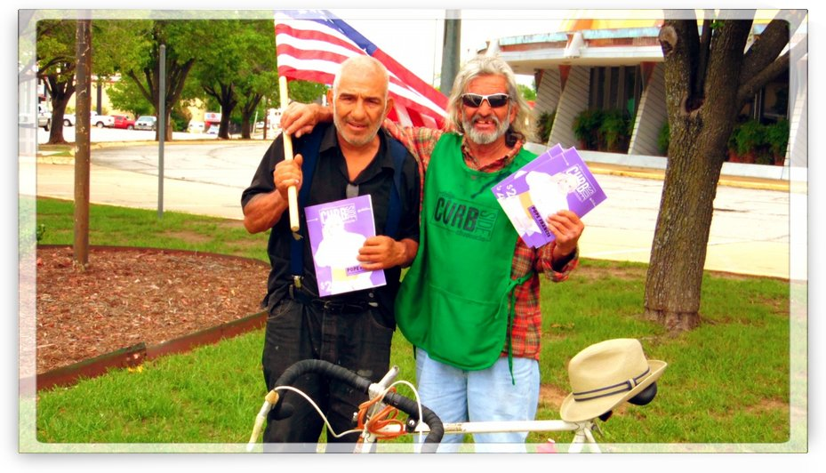 Homeless War Buddies by Chazzi R  Davis