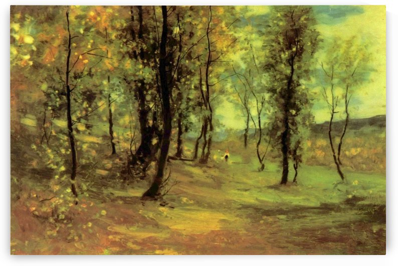 Clear day in the forest by Nicolae Grigorescu