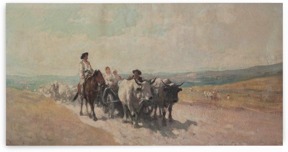 Returning from fair by Nicolae Grigorescu
