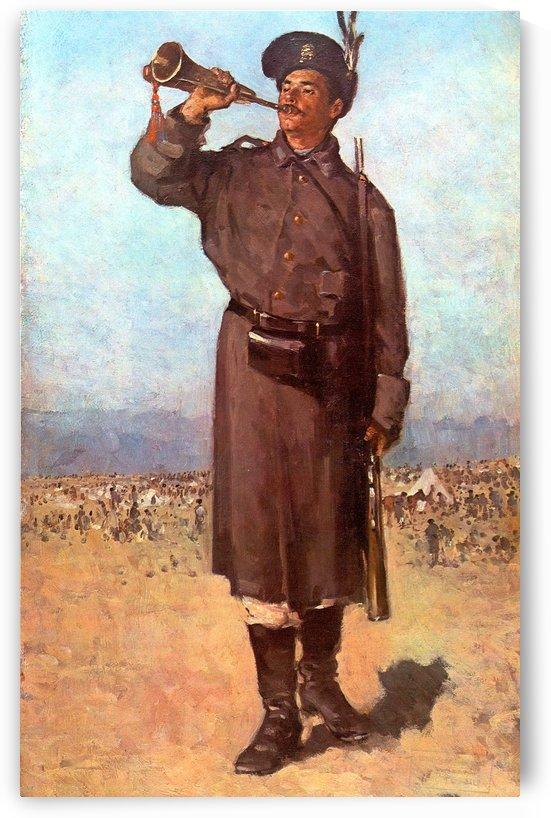 Bugler by Nicolae Grigorescu