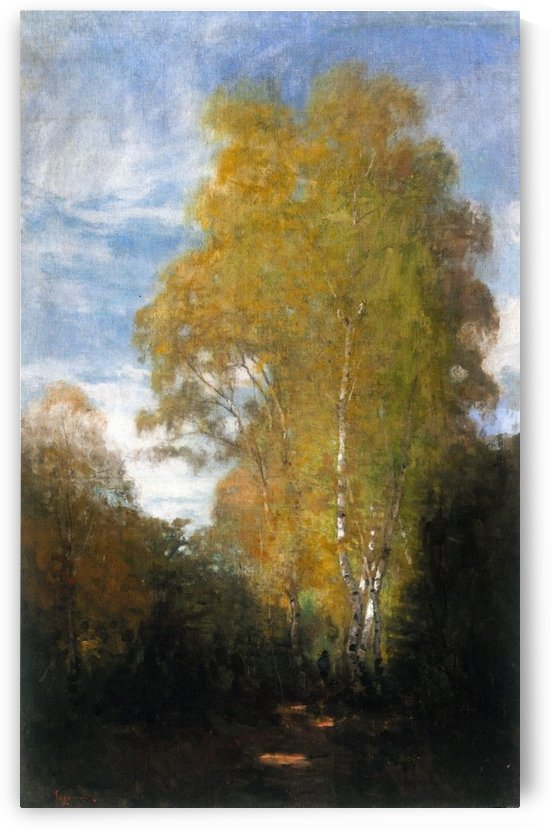 Forest of Fontainebleau by Nicolae Grigorescu