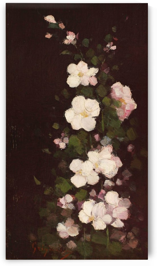 Apple flowers by Nicolae Grigorescu