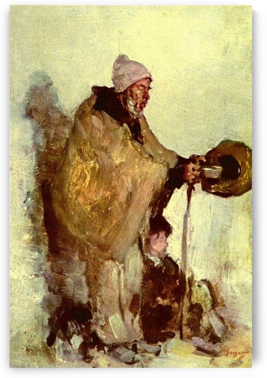 Beggar by Nicolae Grigorescu