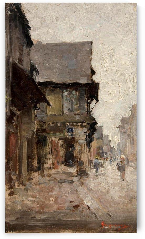 Case la vitre by Nicolae Grigorescu