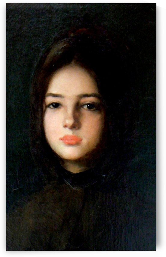 Portrait of Maria Nacu by Nicolae Grigorescu