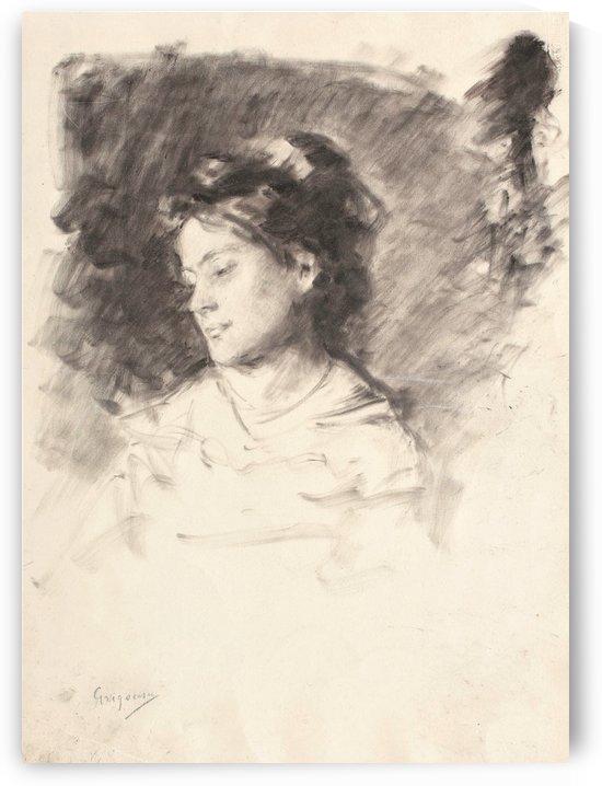 Portrait of Zettina Urechia by Nicolae Grigorescu