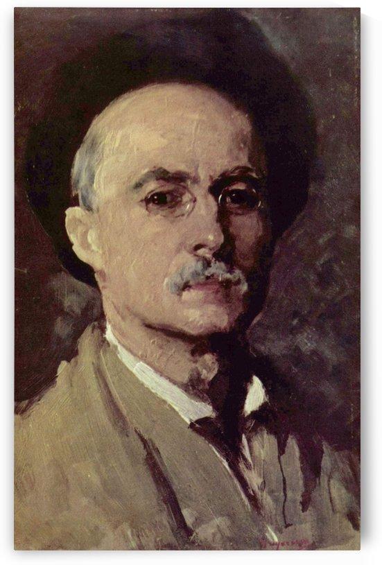 Autoportret by Nicolae Grigorescu