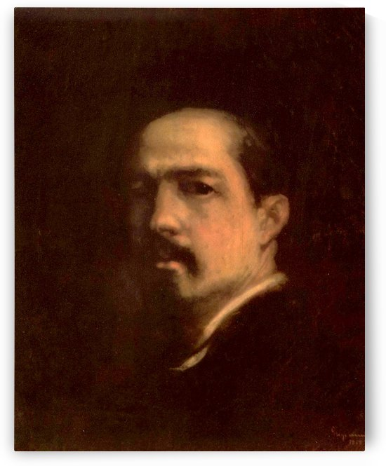 Autoportrait 1868 by Nicolae Grigorescu