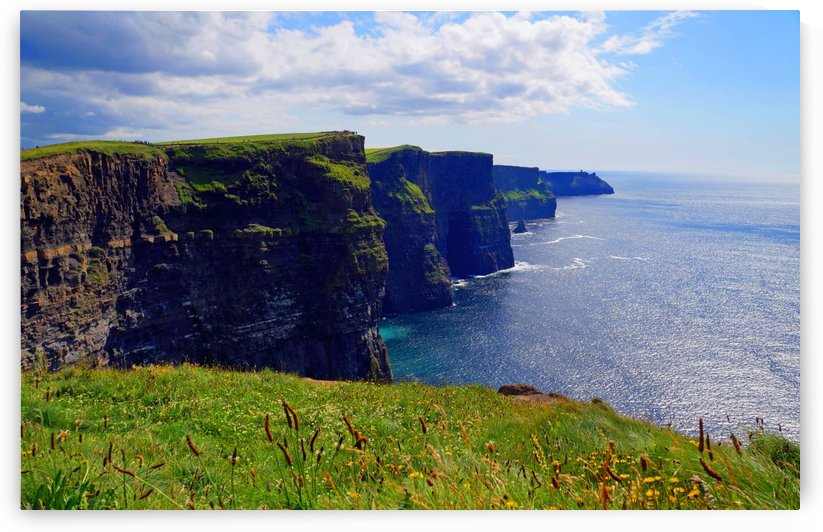 Cliffs of Moher in Ireland by Babett-s Bildergalerie