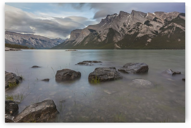 lake Minnewanka by Palwall Photoart