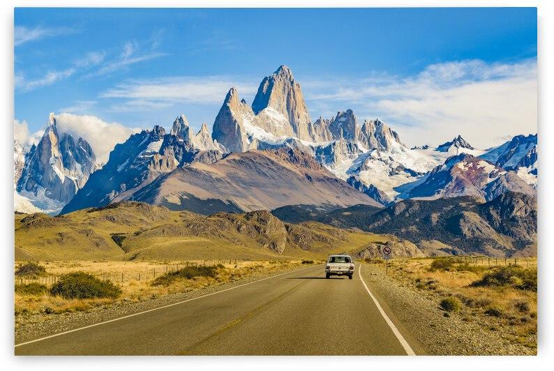 Snowy Andes Mountains, El Chalten, Argentina by Daniel Ferreia Leites Ciccarino
