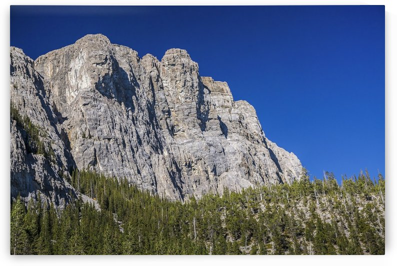 Rocky Peak by Whitemans Pond, Alberta by Palwall Photoart
