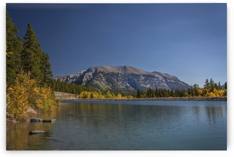 Rundle Forebay, Near Grassi Lake Trail, Alberta by Palwall Photoart