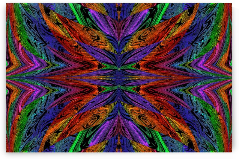 Butterfly Of The Rainbow 3 by Sherrie Larch