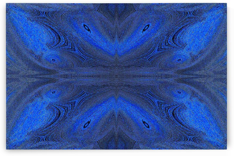 Digital Butterfly Blue 2 by Sherrie Larch