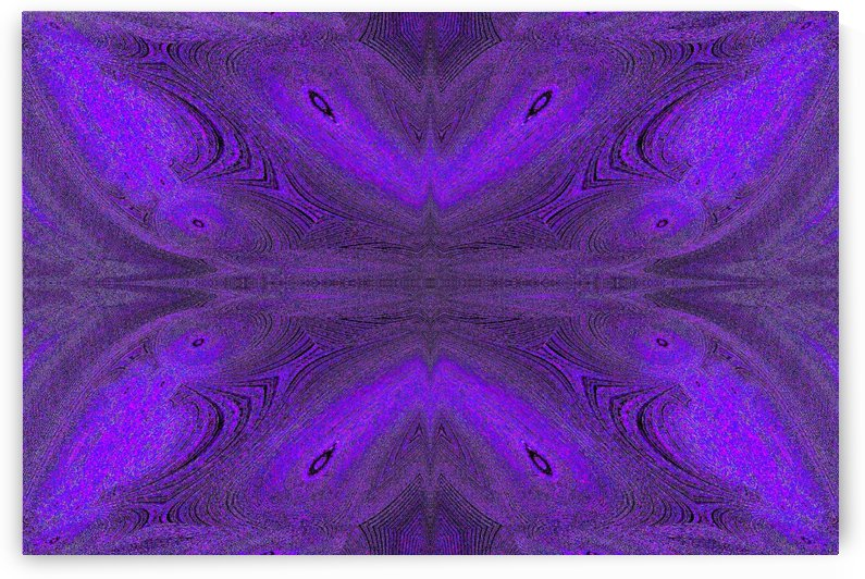 Digital Butterfly Purple  by Sherrie Larch