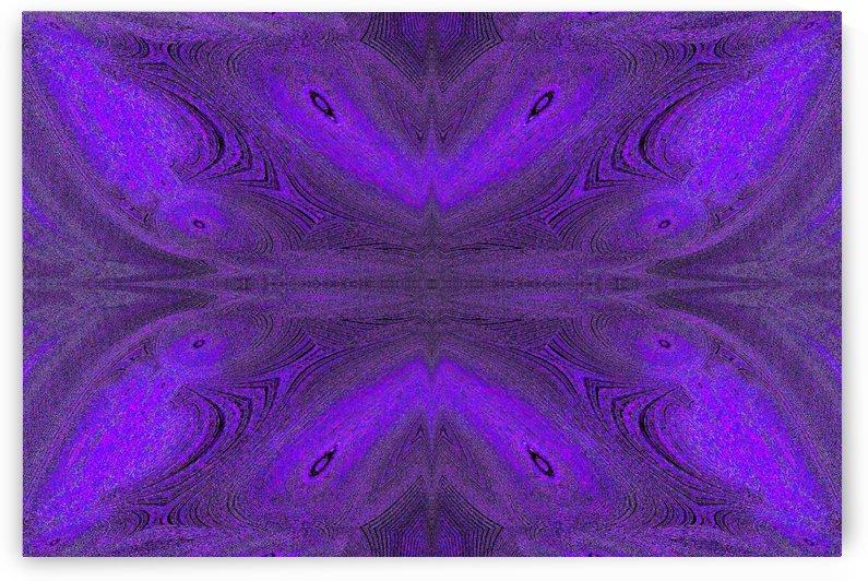 Digital Butterfly Purple  by Sherrie Larch