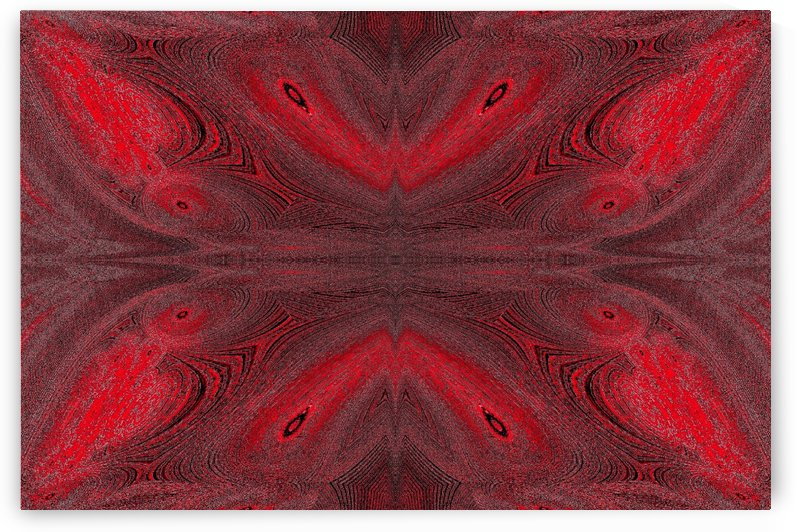 Digital Butterfly Red  by Sherrie Larch