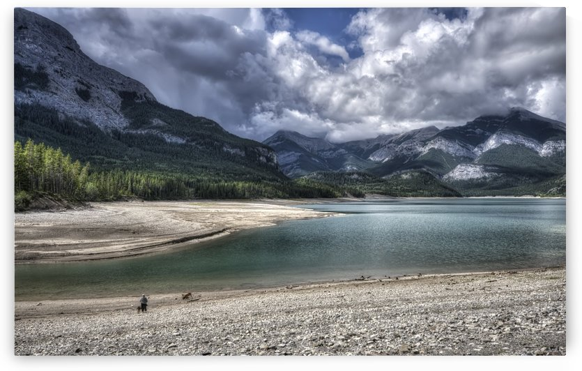 Barrier Lake, ALTA by Ron Harris