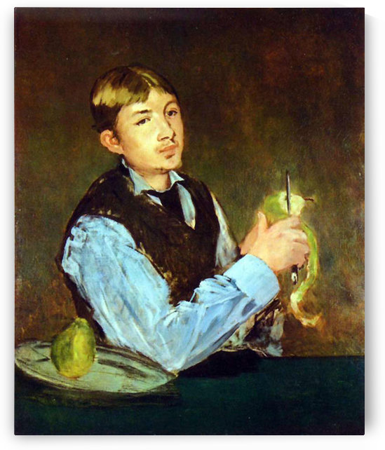 Portait of Leon Leenhoff by Manet by Manet