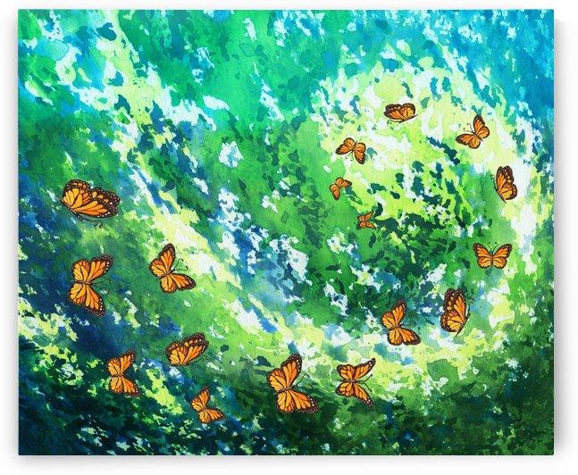 Butterfly  Eternity Vortex by Irina Sztukowski