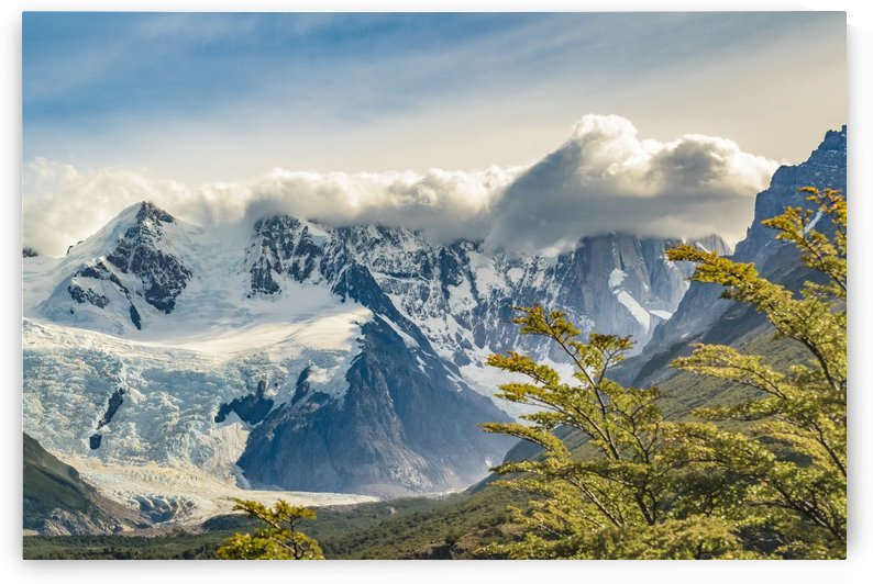 Snowy Andes Mountains, El Chalten Argentina by Daniel Ferreia Leites Ciccarino