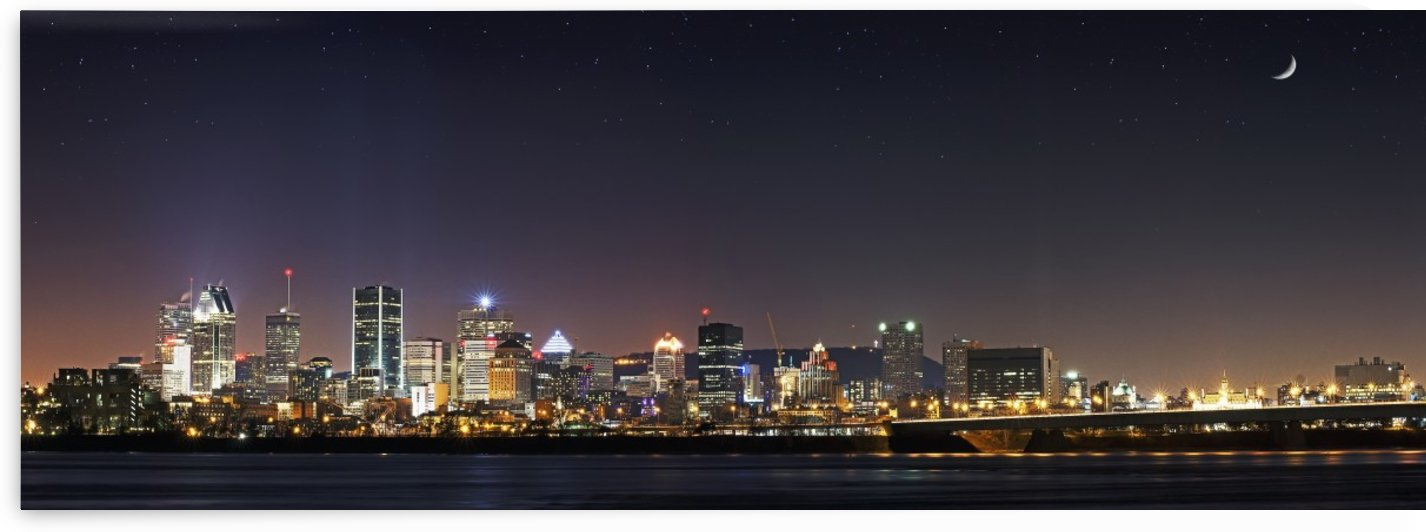 Montreal Skyline by Ron Harris