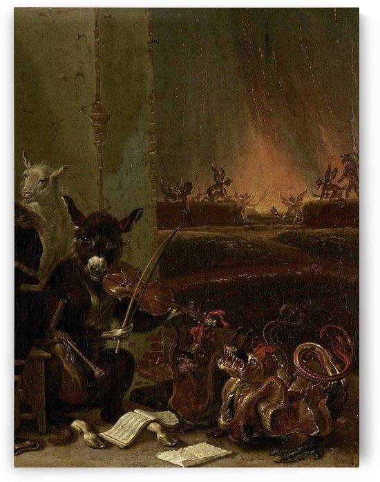 The Trial of Johan van Oldenbarnevelt, 1663 by Cornelis Saftleven