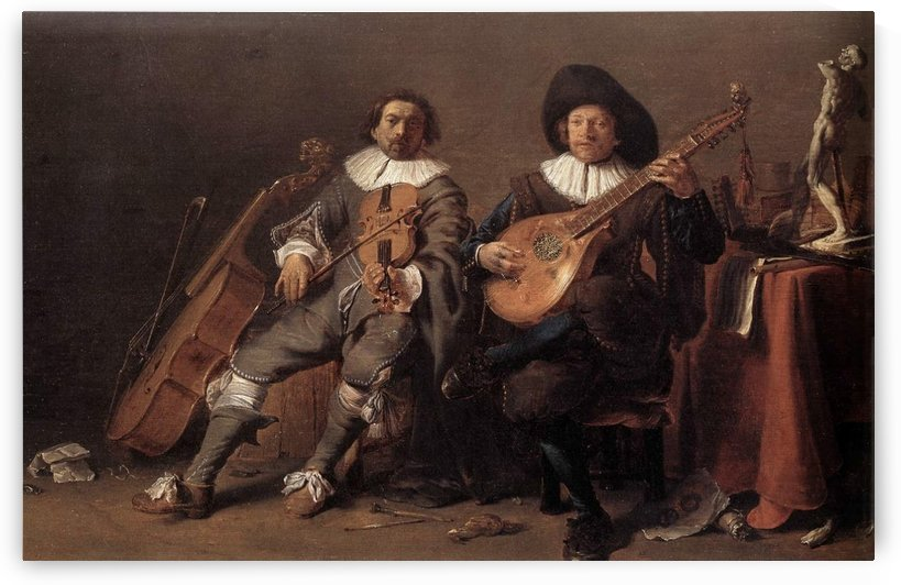 The duet by Cornelis Saftleven