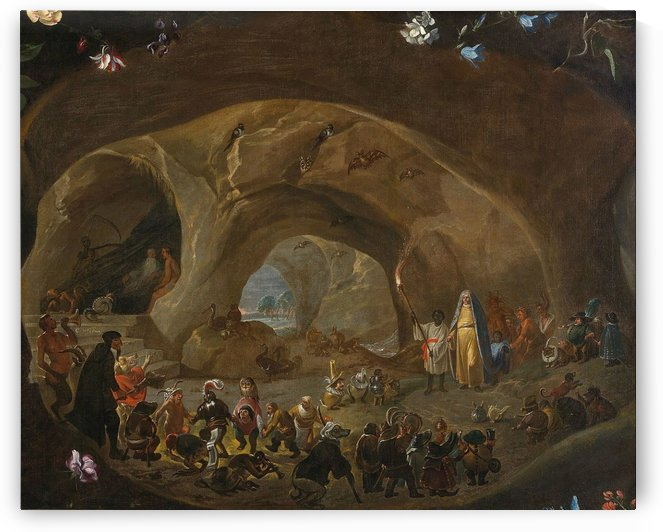 Temptation of St Anthony by Cornelis Saftleven