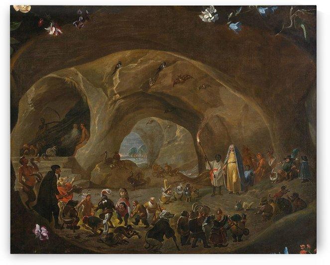 Temptation of St Anthony by Cornelis Saftleven