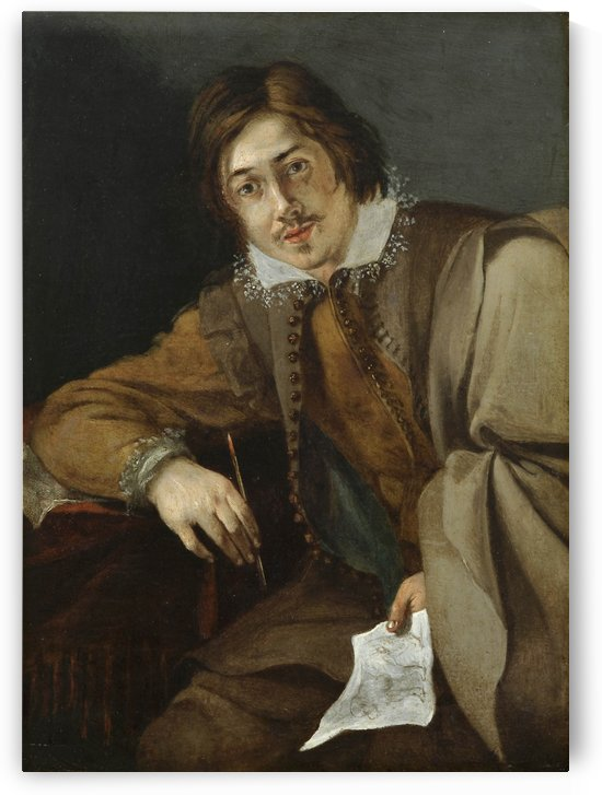 Self portrait by Cornelis Saftleven